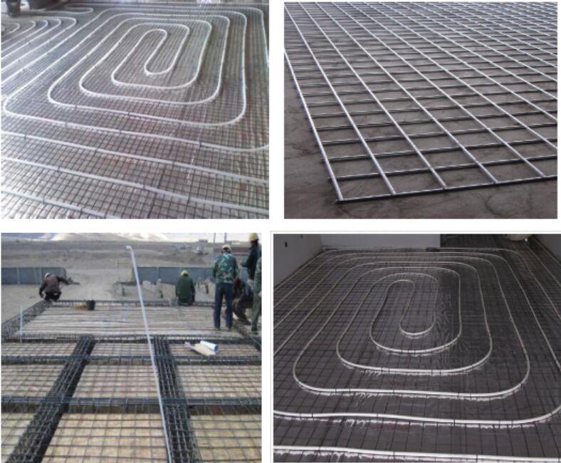 营口15cm孔地暖钢丝网片用于地面取暖防裂