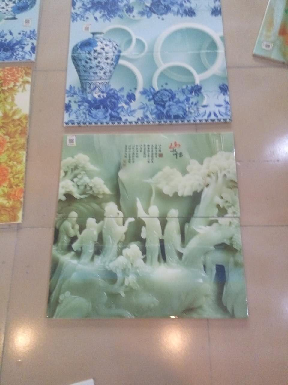 北京宇成瓷砖厂家3D瓷砖PVC液体3D艺术