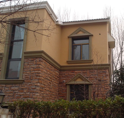 欧式别墅窗套
