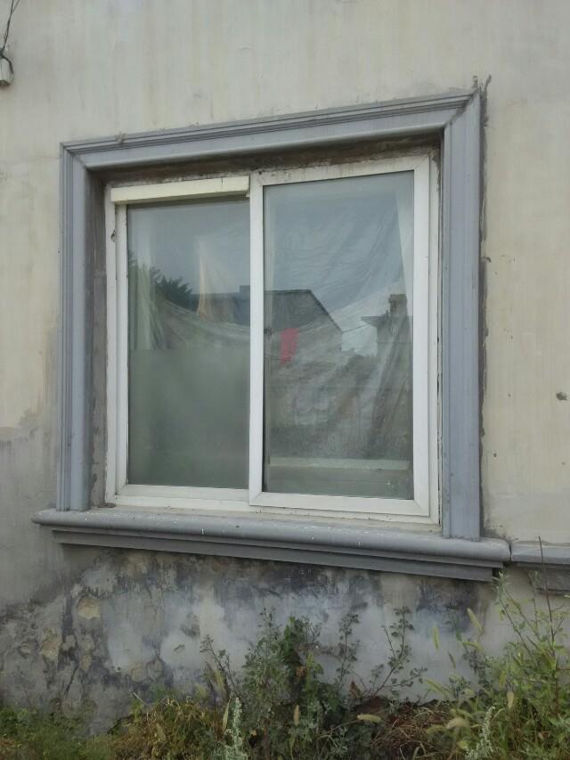 别墅窗套线条 室外欧式窗套-【效果图