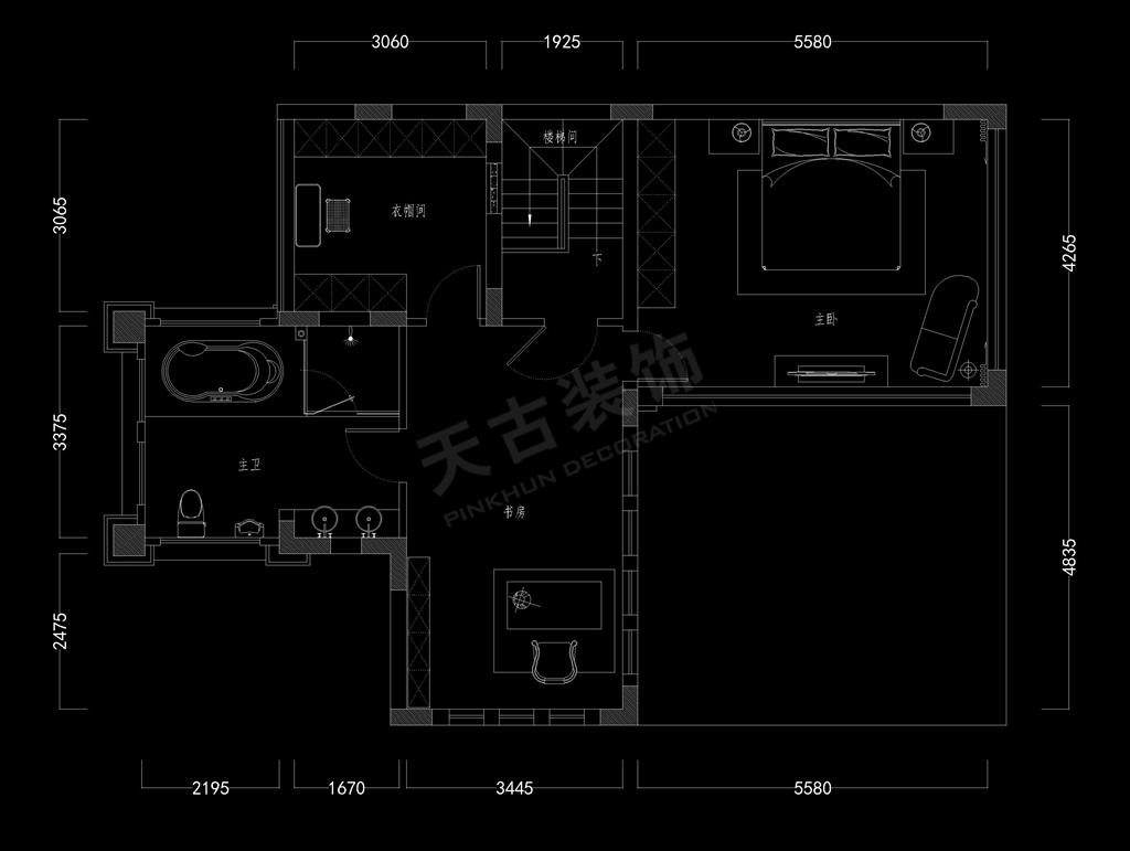 重庆别墅装修设计效果图