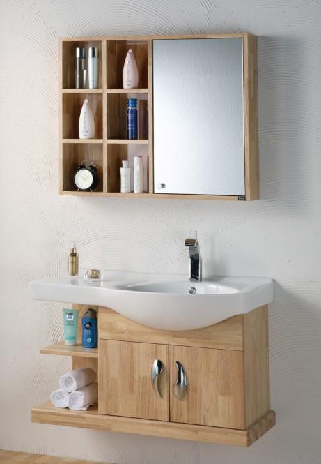 中式浴室柜-【效果圖,產品圖,型號圖,工程圖】-中國