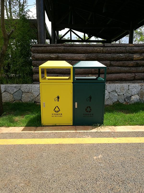 昆明小区垃圾桶专卖图片城竣科技