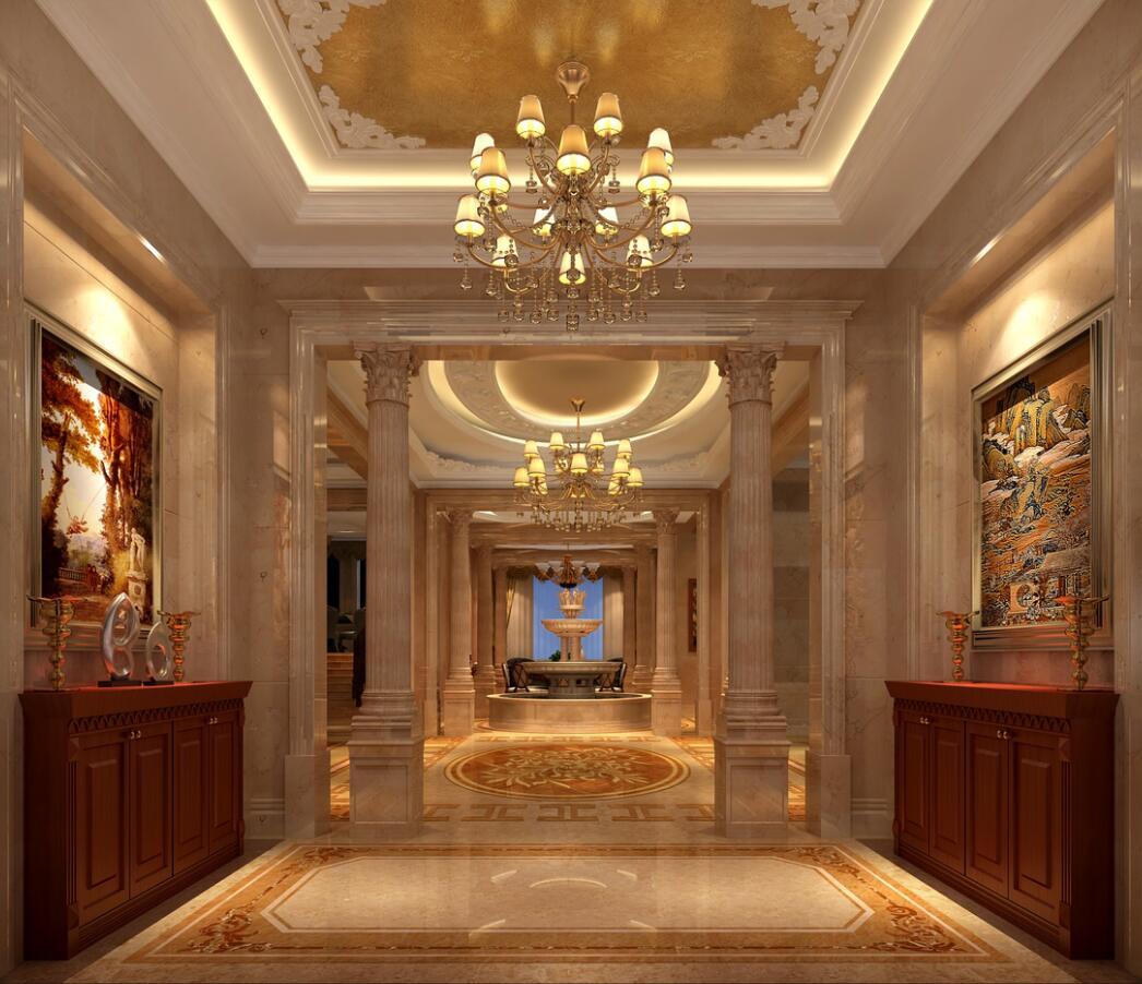 重庆独栋别墅装修设计案例效果图 美利山十五庄园别墅