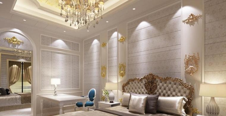 ㄅㄢˇ 护墙板(护墙板):又称墙裙,壁板,一般多用于美式或欧式装修.图片