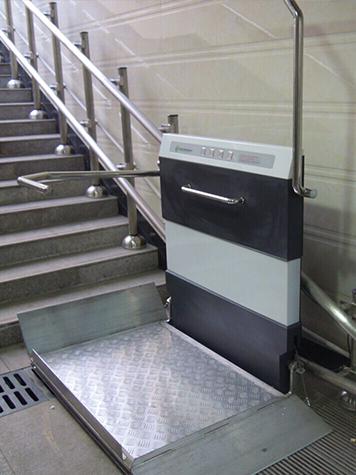 斜挂式升降平台 无障碍轮椅电梯 楼道电梯