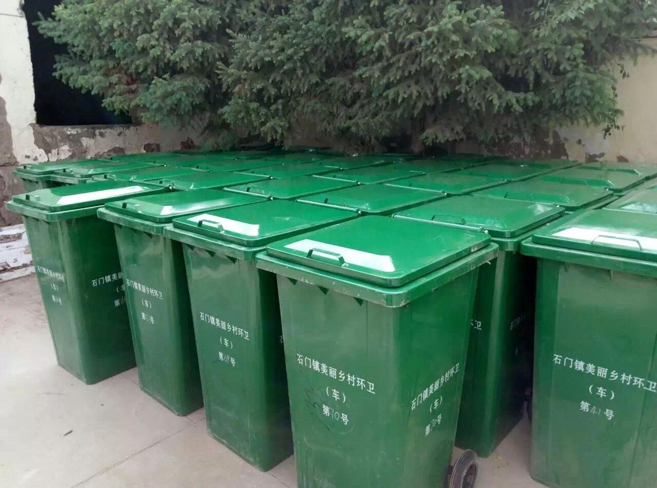 【铁质垃圾桶,镀锌板垃圾箱