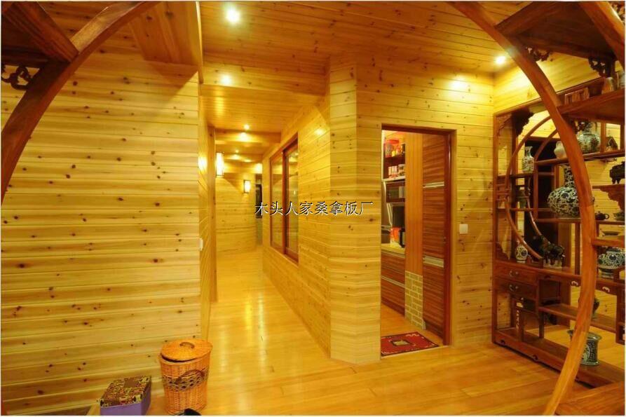 木头人家桑拿板是一家专门生产桑拿板的加工厂,主要生产销售免漆桑拿板,碳化桑拿板,无节桑拿板以及凳板。其主要尺寸有(4米*0.085*0.01)(3米*0.085*0.01)(4米*0.095*0.01)(4米*0.095*0.01)特殊尺寸可以定做加工。我们采用俄罗斯进口樟子松木为原料进行实木加工,是上等的实木材料。我们的产品品质一流,绿色纯天然,欢迎大家来购买!我们一定会做到让大家满意!有需要的新老顾客请拨打电话咨询:15898701860,13789896322。欢迎合作!