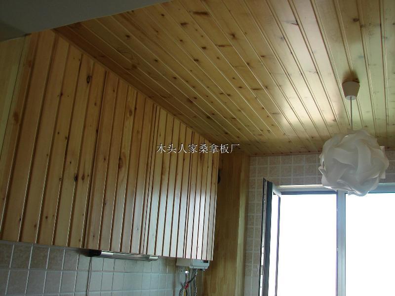 装饰线板 护墙板 > 生产销售免漆桑拿板,碳化桑拿板,实木扣板   木头