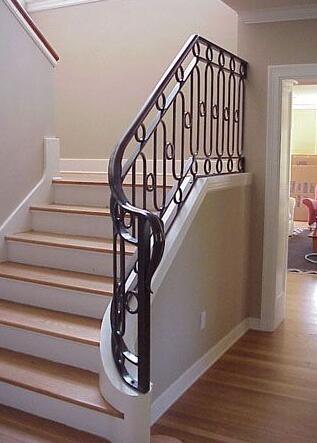 高档铁艺楼梯扶手