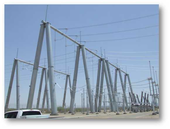 > 供应110kv变电站构架         在农网改造特别是城网工程中,电力