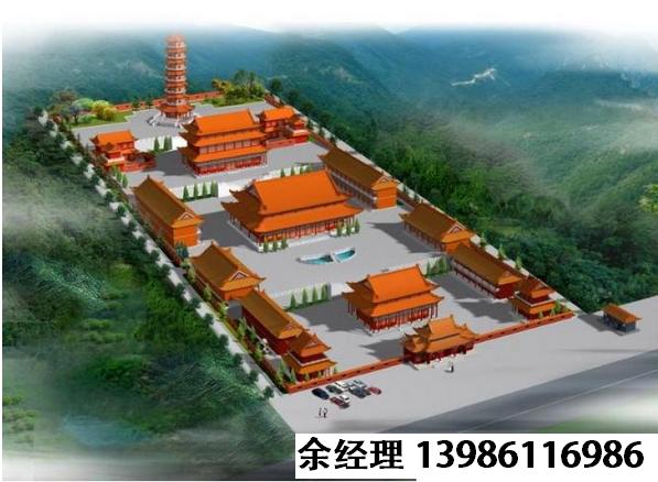 寺庙规划效果图,寺院设计平面图,寺庙设计规划方案