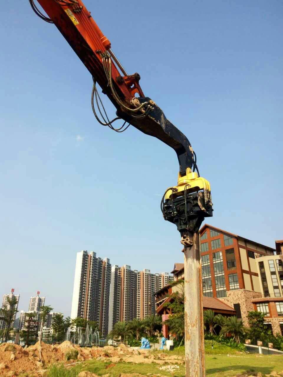 挖掘机打桩机管路的安装方法图解