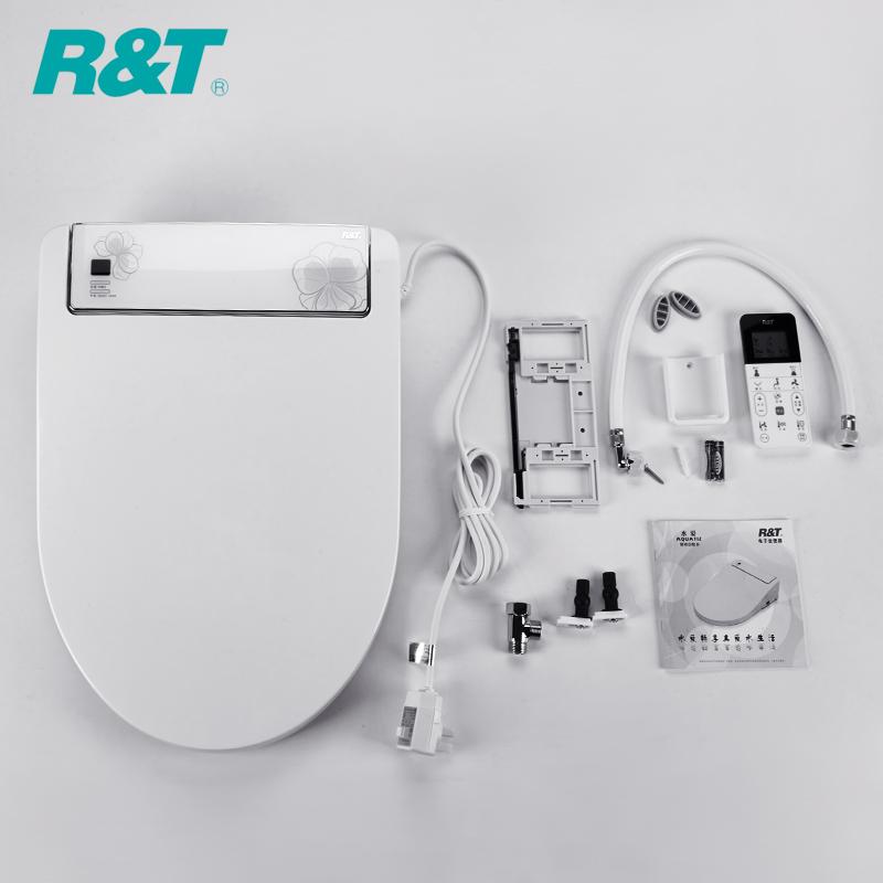 【瑞尔特自动冲洗器遥控盖板日本智能马桶盖】图片