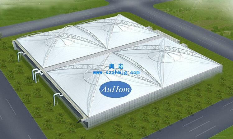 路收费站膜结构等钢膜结构设计