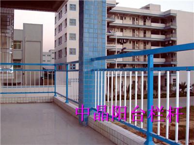 靖江锌钢喷塑组装式阳台护栏工厂直销