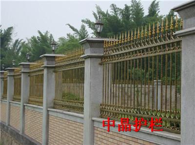 专业生产供应无锡热镀锌围墙栅栏