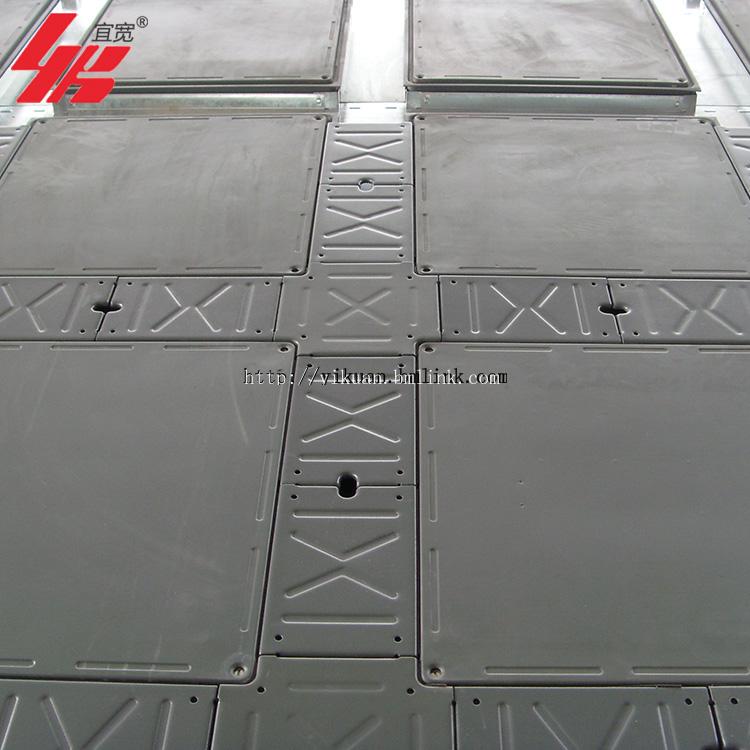 上海热销宜宽OA带线槽智能网络地板国标品质