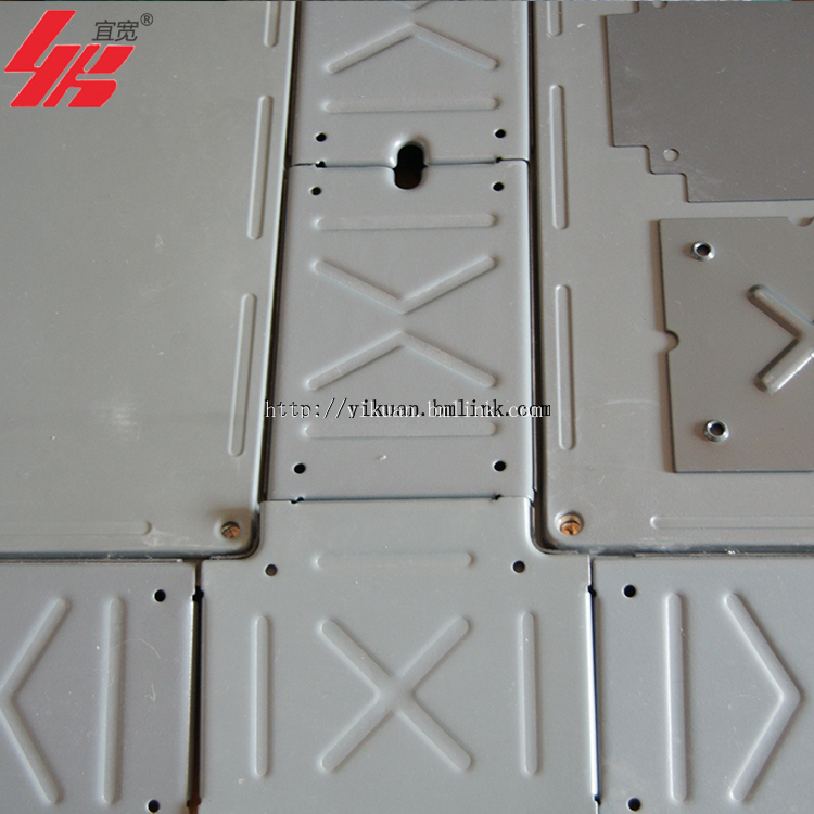 上海宜宽热销OA智能带线槽网络地板出线方便