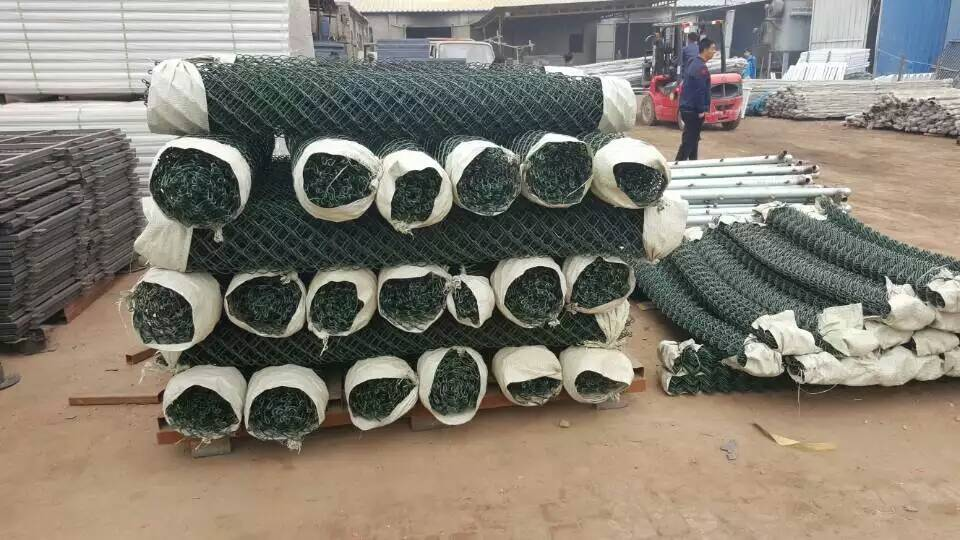 杭州绿色铁丝菱形网厂家诚信经营菱形勾花网