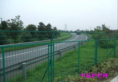 中晶直销湖州锌钢喷塑隔离护栏网