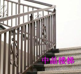 泰州热镀锌楼梯扶手中晶厂家直销