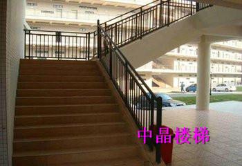 供应泰兴锌钢组装式楼梯扶手价格