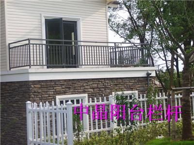 启东锌钢浸塑组装式阳台护栏价格