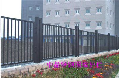 供应建湖热镀锌材质围墙栅栏价格