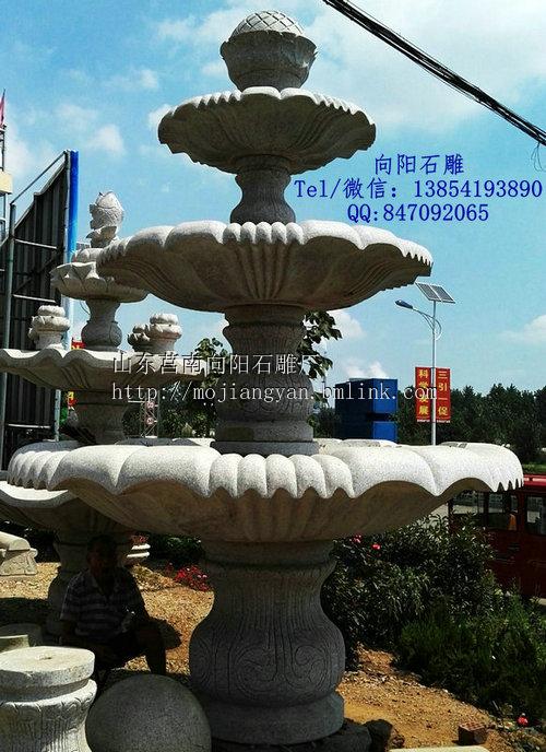 遂宁石雕喷泉水钵个规格尺寸价格、定制周期
