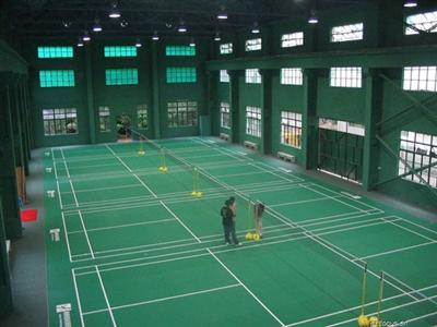 【羽毛球场地塑胶地板价格】广东广州