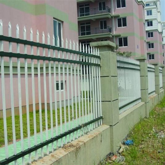 常州浸锌钢中晶围墙栏杆厂家直销