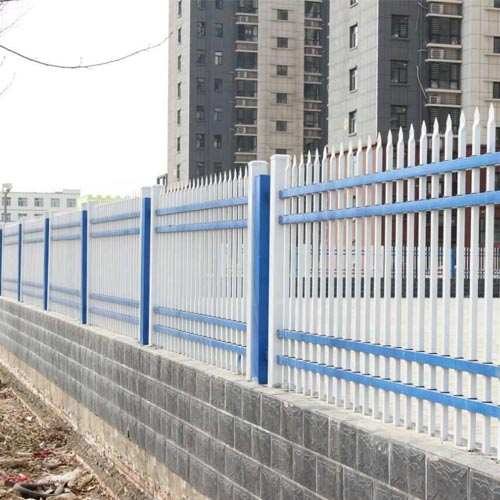 沭阳锌钢喷塑组装式围墙护栏价格