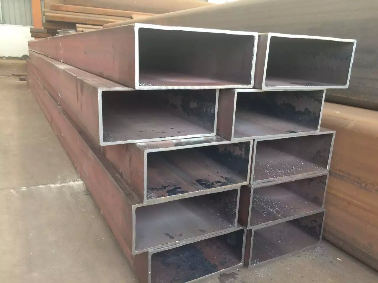 太阳能发电支架用方形钢管(方通),钢结构工程用方形管(方管),电力工程
