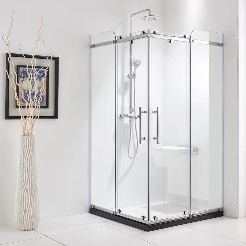 推荐一款简易的方形淋浴房 卫生间隔断门