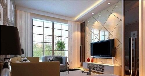 电视背景墙装修设计小贴士(博康特欧境集成)图片