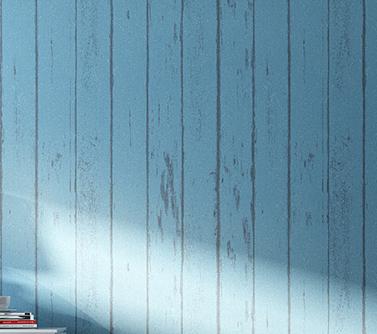 高清蓝色欧式墙布贴图