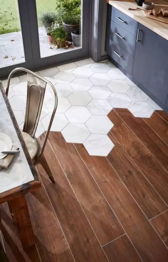 木纹砖铺贴