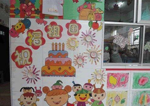 幼儿园主题墙布置图片