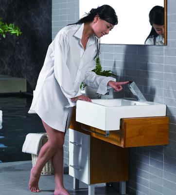 浴室柜摆放位置