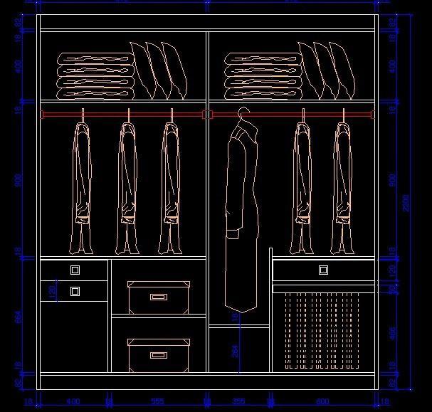 幾張圖告訴你,衣柜這樣設計才好用,1㎡堪比半個衣帽間圖片