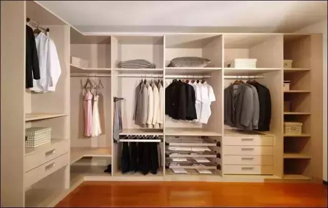 你想看的衣柜内部结构图,在这里-衣柜内部合理设计图