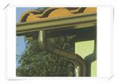 供应别墅彩铝落水檐槽雨水管