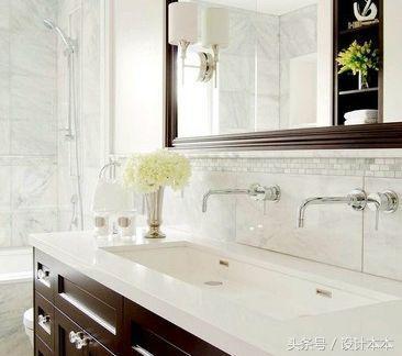 论卫生间双台盆的必要性,与小孩同时刷牙,洗脸的画面真美-台盆图片