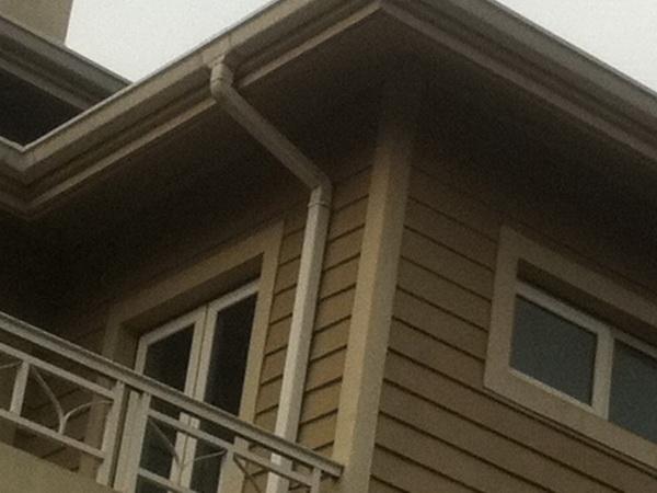 供应别墅雨水塑料檐槽方管