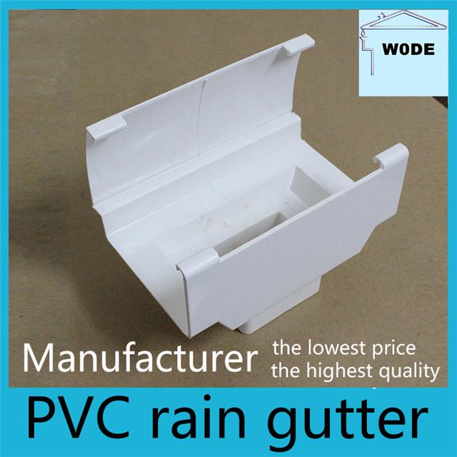 供应屋檐PVC水槽排水系统