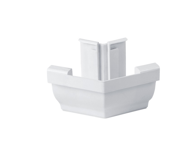 供应别墅屋檐塑料檐槽落水系统