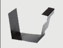 供应屋面彩铝雨水槽排水系统