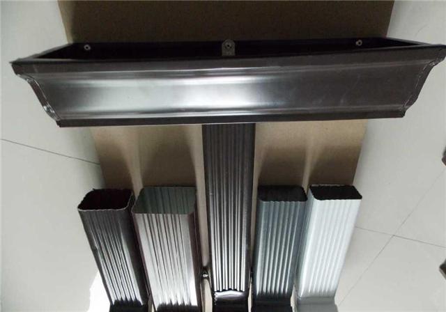 供应彩铝檐槽落水系统