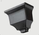 供应屋面彩铝积水槽落水系统
